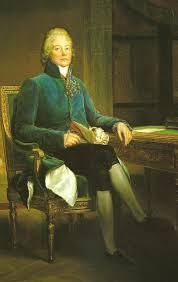 Le prince de Talleyrand- Perigord - Ministre des Affaires etrangeres.