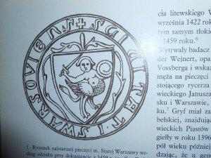 Le sceau le plus ancien de la Vieille Ville sur un document datant de 1459