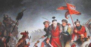 La mort de Stanisław Zołkiewski a la bataille de Cecora